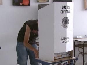 Votação (Foto: Reprodução/ EPTV)