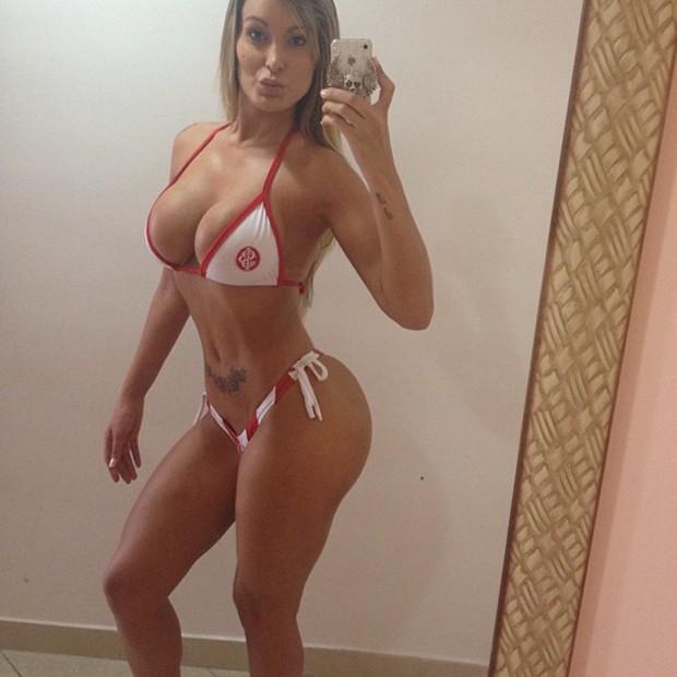 Andressa Urach posta foto de biquíni (Foto: Instagram / Reprodução)