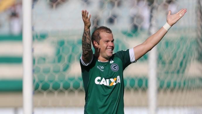 Tiago Luís - atacante do Goiás (Foto: Zuhair Mohamad / O Popular)
