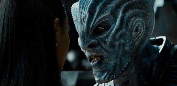 Idris Elba como Krall em 'Star Trek: Sem Fronteiras' (Foto: Reprodução/Youtube)