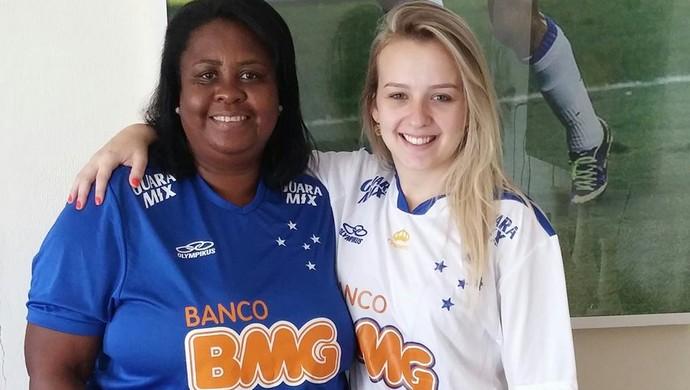 Cristina Rocha e Rayanne Almeida Mayke Cruzeiro (Foto: Rayanne Almeida/Arquivo Pessoal)