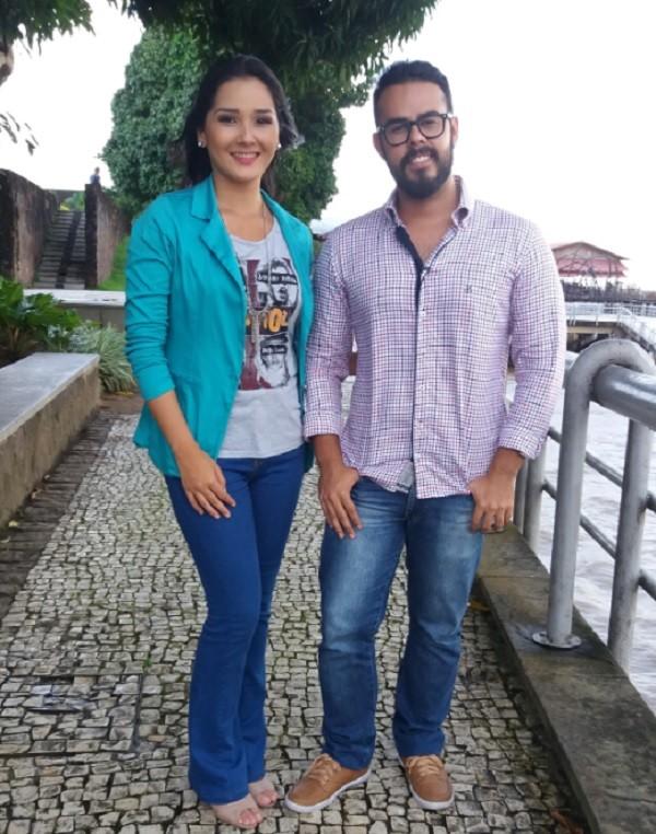 Larissa e Paulo (Foto: Reprodução / )