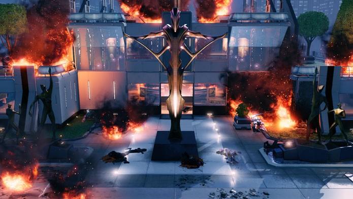 Um dos cenários de XCOM 2 (Foto: Divulgação/2K Games)