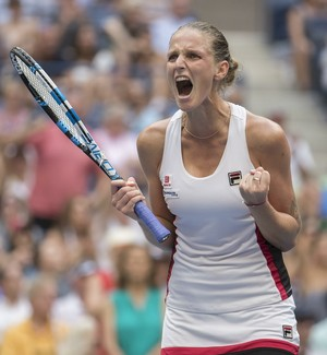 Karolina Pliskova US Open tênis final (Foto: Reuters)