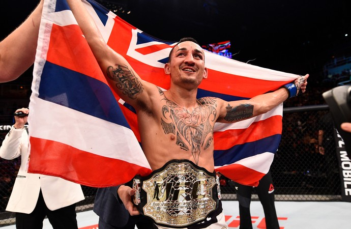 José Aldo x Max Holloway UFC Rio 8 (Foto: Getty Images)