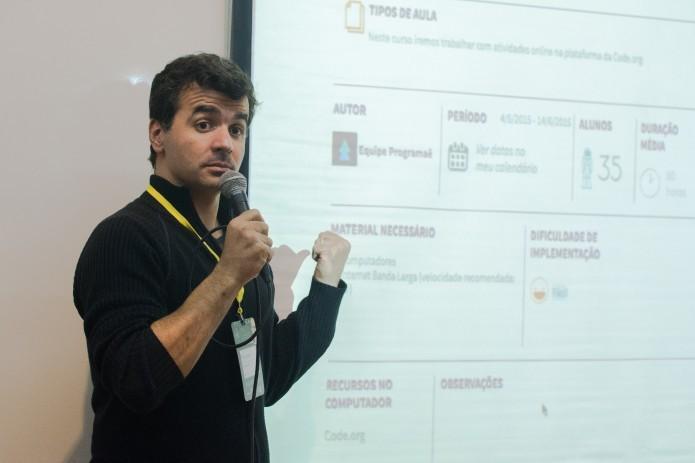 Francisco Isidro Macedo, curador do Programaê! (Foto: Giordano Tronco)