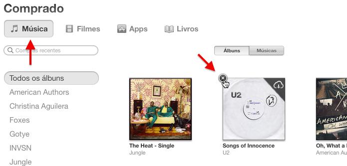 Ocultando álbum da biblioteca do iCloud (Foto: Reprodução/Helito Bijora)