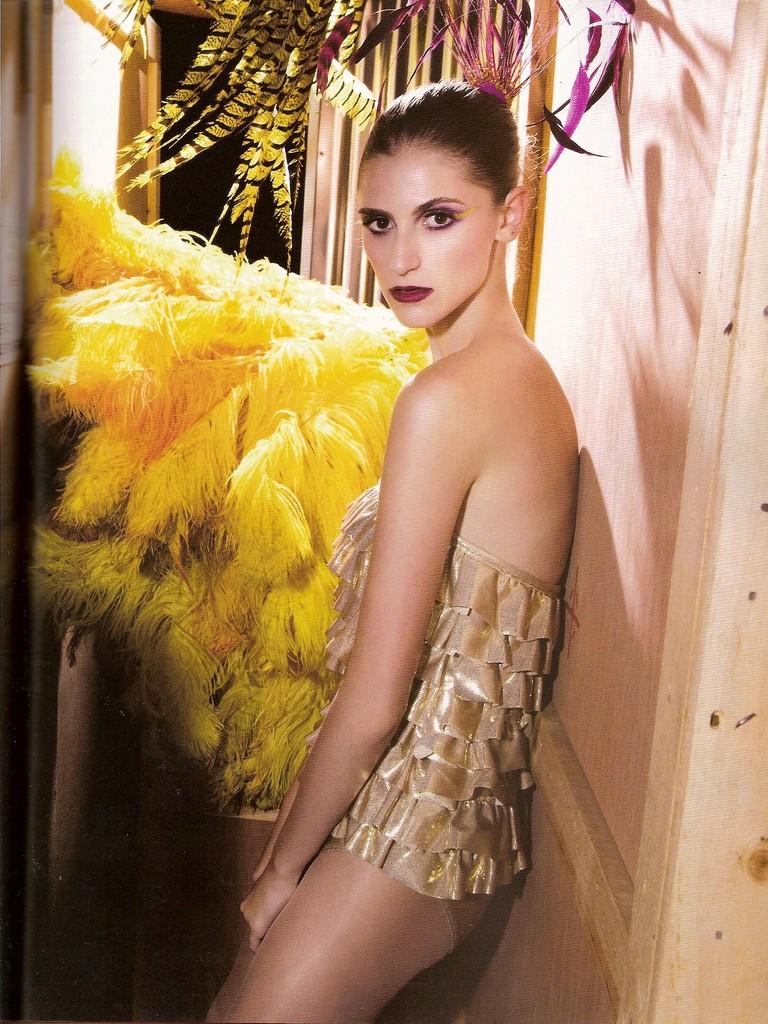 Beleza de Carnaval (Foto: Arquivo Vogue)