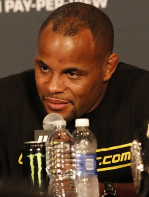 Daniel Cormier coletiva de imprensa UFC 187 (Foto: Evelyn Rodrigues)