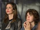 Luciana Gimenez e o filho assistem a show de Paul McCartney