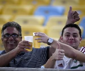 Cerveja Maracanã - Fluminense x Palmeiras (Foto: André Durão / GloboEsporte.com)