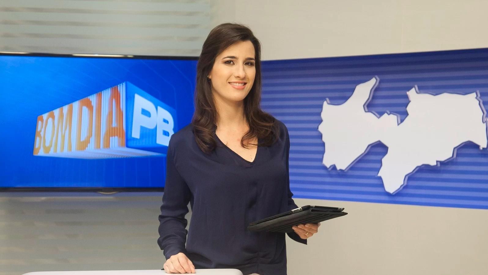 Patrícia Rocha no Bom Dia Paraíba (Foto: Felipe Gesteira)