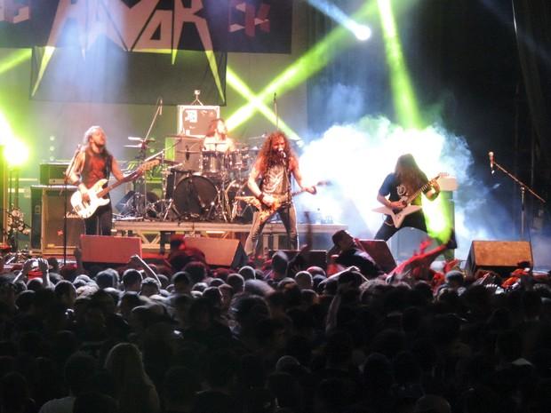 Banda Havok, no Abril pro Rock (Foto: Katherine Coutinho / G1)
