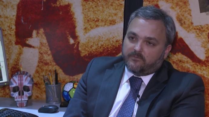 Advogado torcedor cadeira cativa (Foto: Reprodução SporTV)