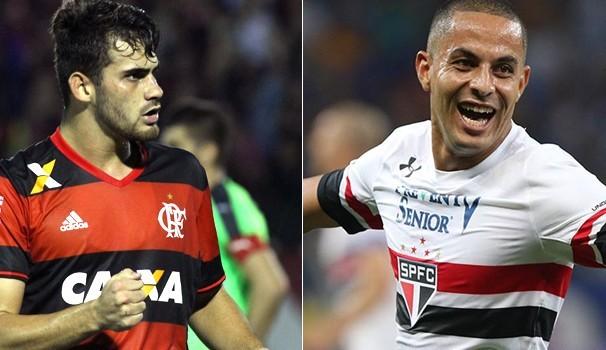 Flamengo e São Paulo se enfrentam em partida válida pelo Campeonato Brasileiro  (Foto: Divulgação)