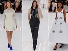 Christian Dior apresenta sua coleção de alta-costura no segundo dia da semana de moda de Paris