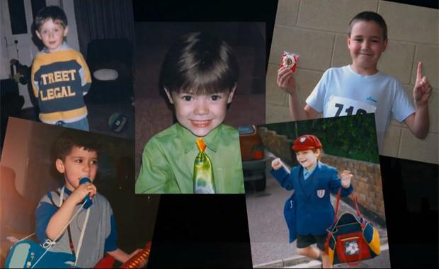 Trecho do filme a ser lançado pela banda britânica One Direction mostra cantores quando crianças (Foto: Divulgação)