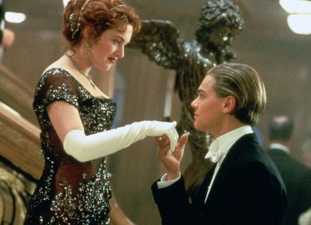 Cena clássica com Kate Winslet e Leonardo Di Caprio em Titanic  (Foto: Divulgação)