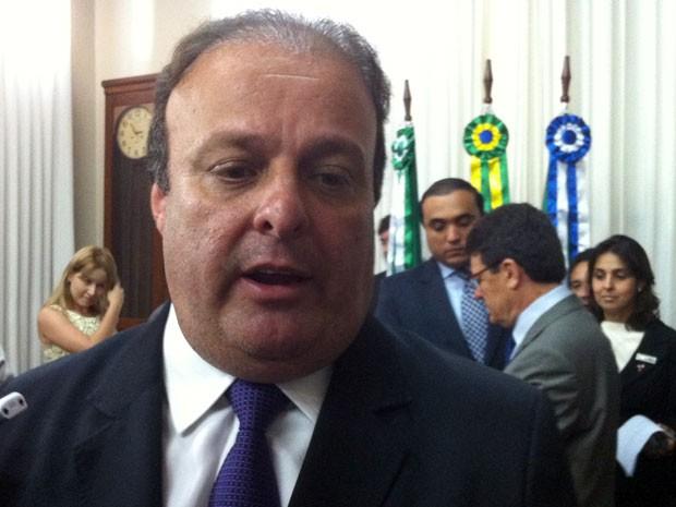 Paulinho Freire deixa Prefeitura de Natal para ser diplomado vereador (Foto: Caroline Holder/G1 RN)