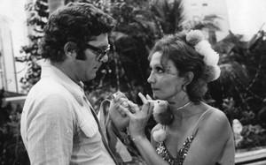 """Carlos Zara e Eva Wilma na primeira versão de """"Mulheres de Areia"""" - TV Tupi"""