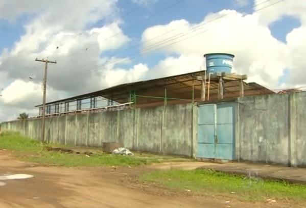 Centro de Internação Provisória (CIP), na Zona Sul de Macapá (Foto: Reprodução/TV Amapá)