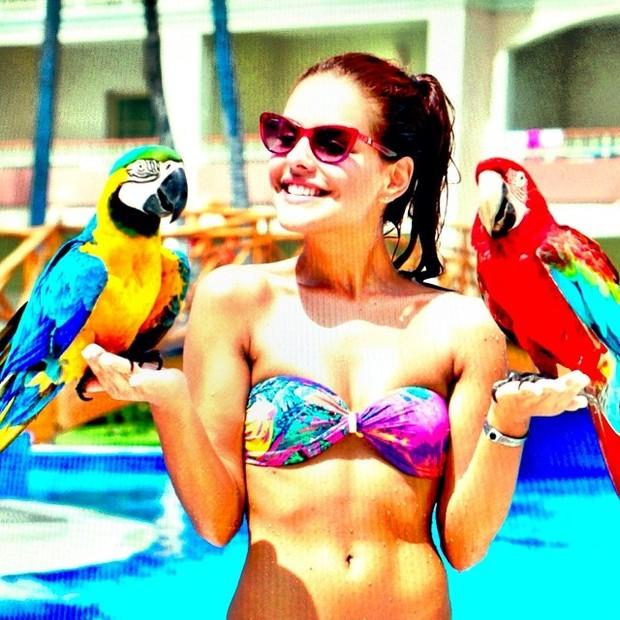 Paloma Bernardi em Punta Cana, na República Dominicana (Foto: Instagram/ Reprodução)