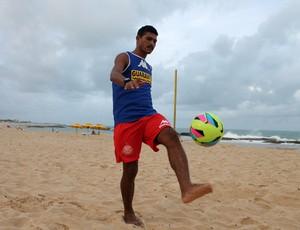 RN - André Bigode América-RN beach soccer (Foto: Canindé Pereira/América FC/ Divulgação)