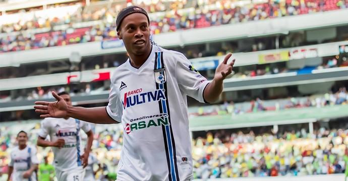 Ronaldinho Gaúcho Querétaro (Foto: Reprodução / Facebook)
