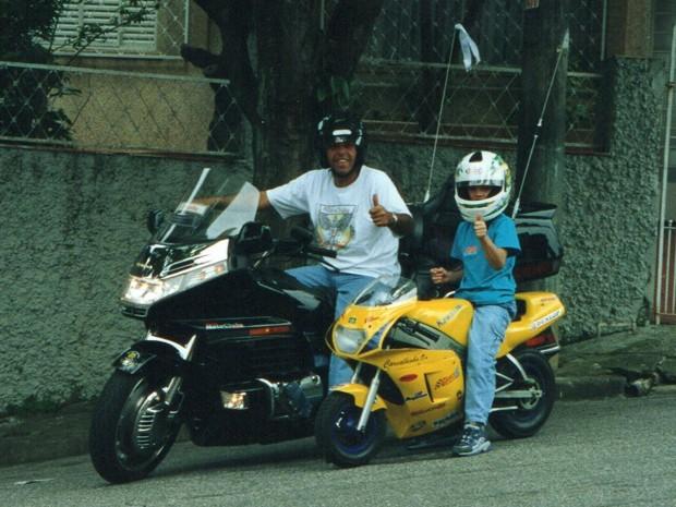 Carvalho e Júnior (Foto: Arquivo pessoal)