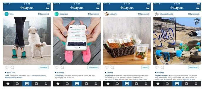 Anúncios do Instagram permitirão realizar compras direto do app (Foto: Divulgação/Instagram)