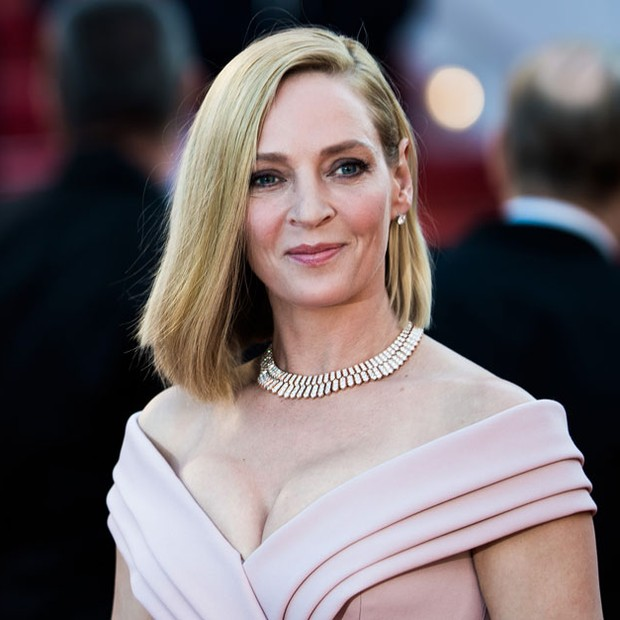 O colar de Uma Thurman (Foto: Getty Images) (Foto: Getty Images)
