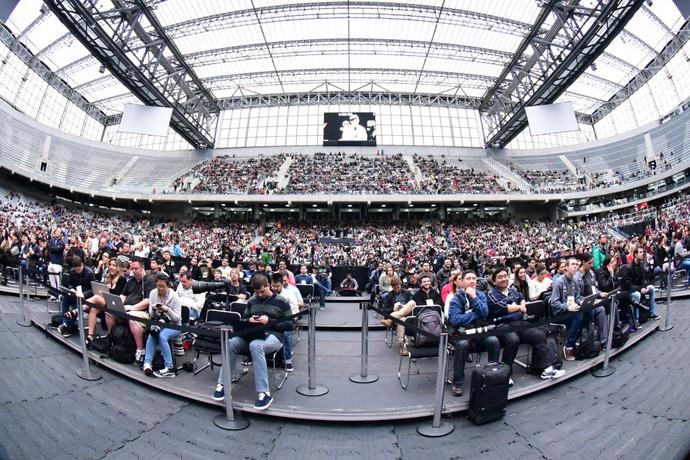 Público Arena da Baixada Pesagem UFC 198 (Foto: Jason Silva)