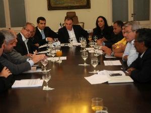 Governador se reuniu com bancada federal capixaba (Foto: Romero Mendonça/Secom-ES)