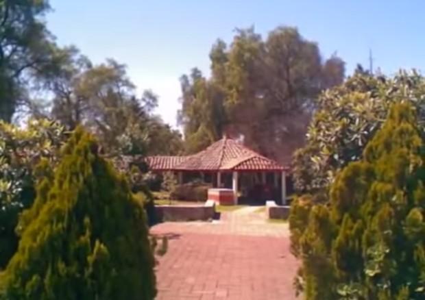 Casa de Ruben Aguirre, o professor Girafales (Foto: Reprodução/ You Tube)