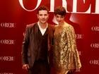Daniel Oliveira e Sophie Charlotte vão juntos à festa de 'O rebu'