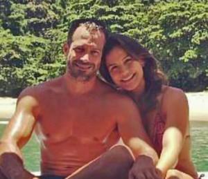 Malvino Salvador aproveita momento de lazer com a mulher Kyra Gracie (Foto: Arquivo pessoal)