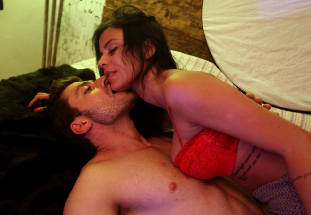 Lorena Bueri e Marcelo Ramos (Foto: Leo Franco/AgNews)