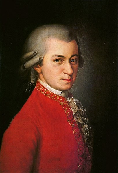 Mozart (Foto: Deutsch, Otto Erich (1965) Mozart: A Documentary Biography. Stanford: Stanford University Press/ Wikimedia Commons)