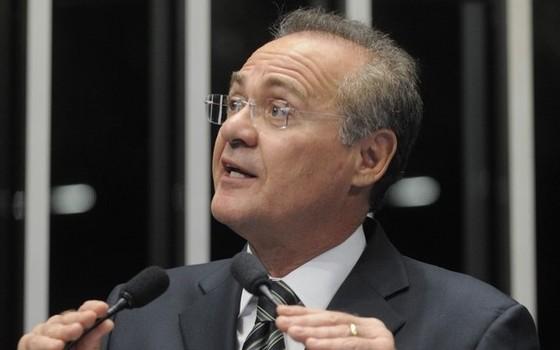 Renan Calheiros, presidente do Senado  (Foto: Moreira Mariz / Agência Senado)