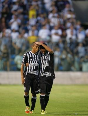 Pingo marcou gol já nos acréscimos e decretou a vitória do Vovô (Foto: José Leomar / Ag. Diário)