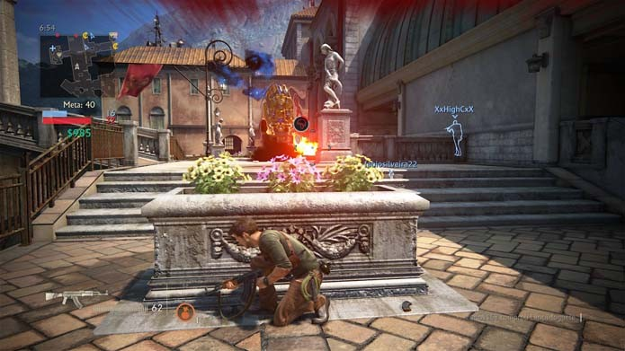 Jogue Uncharted 4 na sua partida personalizada (Foto: Reprodução/Murilo Molina)