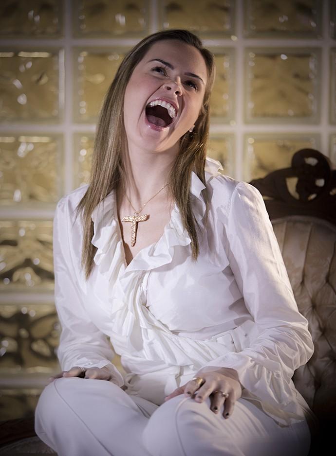 Ana Paula de Carminha (Foto: Raphael Dias/Gshow)