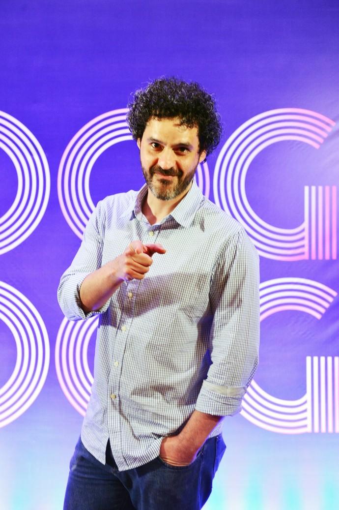Bruno Garcia no lançamento da novela 'Boogie Oogie' (Foto: João Miguel Júnior/TV Globo)