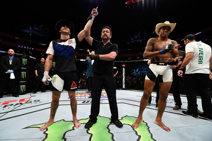 Donald Cerrone Alex Cowboy UFC Pittsburgh MMA (Foto: Getty Images)
