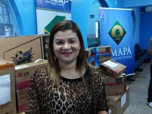Bradiani Farias Ribeiro Lima, procuradora do Trabalho (Foto: John Pacheco/G1)