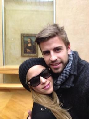 Shakira e Gerard Piqué (Foto: Reprodução / Twitter)