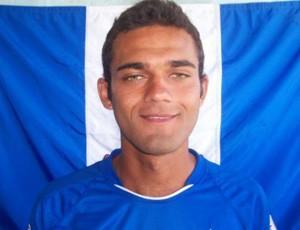 Léo Dias, atacante do Linhares (Foto: Reprodução/Site oficial do Linhares)