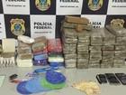 Homens são presos com cerca de 50 kg de droga em porta-malas na BA