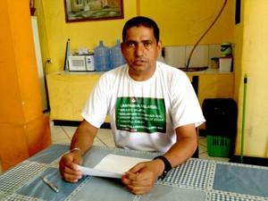 João Sandim Sinteac (Foto: Rayssa Natani / G1)