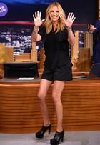 Look do dia: Julia Roberts usa pretinho básico em programa de TV